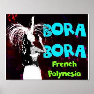 Bora Bora Female Dancer Poster