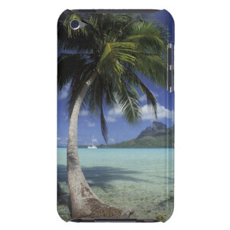 Bora Bora, French Polynesia Mt. Otemanu seen iPod Case-Mate Cases