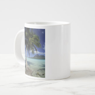 Bora Bora, French Polynesia Mt. Otemanu seen Large Coffee Mug
