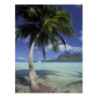 Bora Bora, French Polynesia Mt. Otemanu seen Post Card