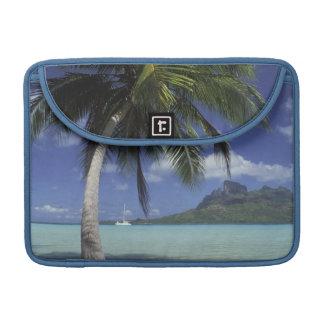 Bora Bora, French Polynesia Mt. Otemanu seen Sleeve For MacBook Pro