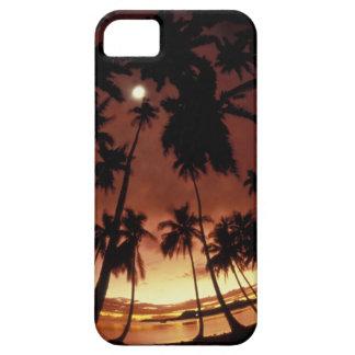 Bora Bora, French Polynesia Sunset shot through iPhone SE/5/5s Case
