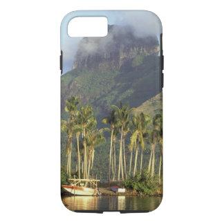 Bora Bora, French Polynesia Waterfront scene and iPhone 7 Case