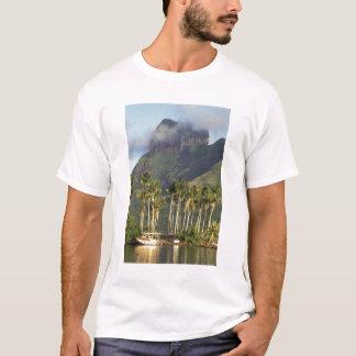 Bora Bora, French Polynesia Waterfront scene and T-Shirt