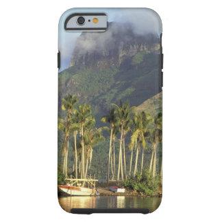 Bora Bora, French Polynesia Waterfront scene and Tough iPhone 6 Case