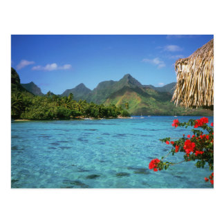 Bora Bora Island, French Polynesia Postcard