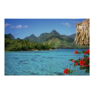 Bora Bora Island, French Polynesia Poster