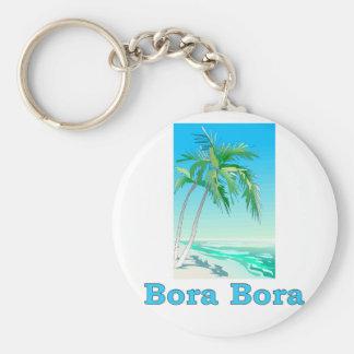 Bora Bora Keychain