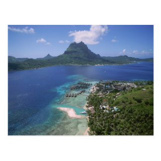 Bora Bora Lagoon Resort, French Polynesia Postcard