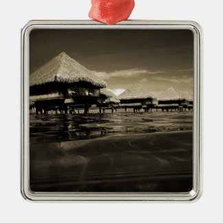Bora Bora Metal Ornament