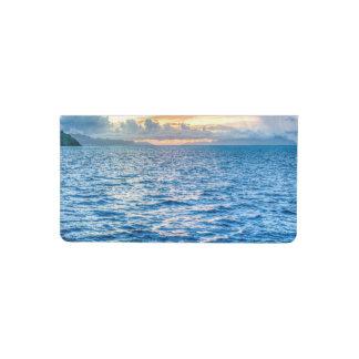 Bora Bora Ocean View Checkbook Cover