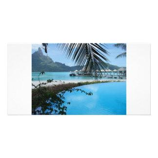 Bora Bora Photo Greeting Card