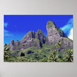 Bora Bora Photograph Poster