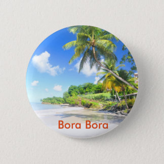 Bora Bora Pinback Button