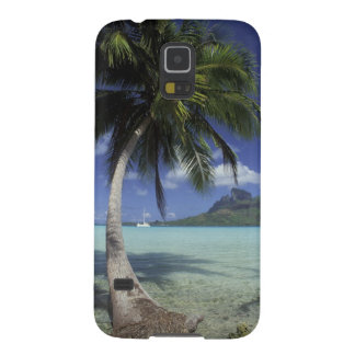 Bora Bora, Polinesia francesa Mt. Otemanu visto Carcasa Para Galaxy S5