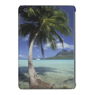 Bora Bora, Polinesia francesa Mt. Otemanu visto Funda Para iPad Mini Retina