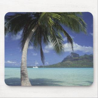 Bora Bora Polinesia francesa Mt Otemanu visto Tapetes De Raton