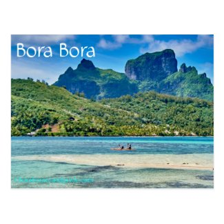 Bora Bora Postcard