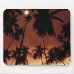 Bora Bora, puesta del sol de Polinesia francesa ti Alfombrilla De Ratones