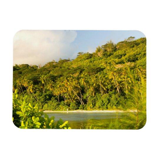 Bora Bora, Society Islands, French Polynesia. Magnet