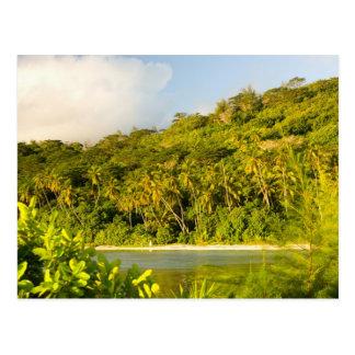 Bora Bora, Society Islands, French Polynesia. Postcard
