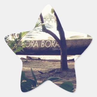 Bora Bora Star Sticker