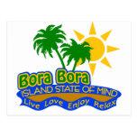 Bora Bora State of Mind postcard