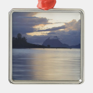 Bora Bora Sunset.JPG Metal Ornament