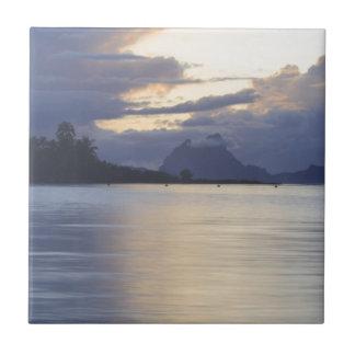 Bora Bora Sunset.JPG Tile