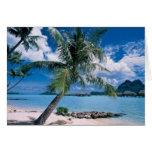 Bora Bora Tarjeta De Felicitación