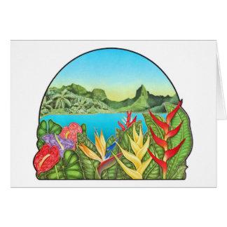 Bora Bora Tarjetón