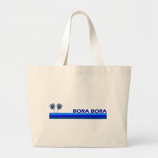 Bora Bora Tote Bags