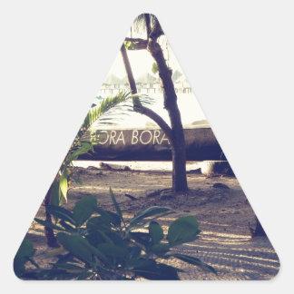 Bora Bora Triangle Sticker