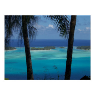 Bora Bora View Poster