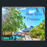 "Bora Bora Wall Calendars<br><div class=""desc"">Personalized Bora Bora wall calendar (yearly,  January - December) with beautiful photos of Bora Bora. Photos are customizable and you can replace them with your photos.</div>"