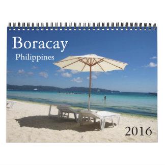 boracay 2016 wall calendar
