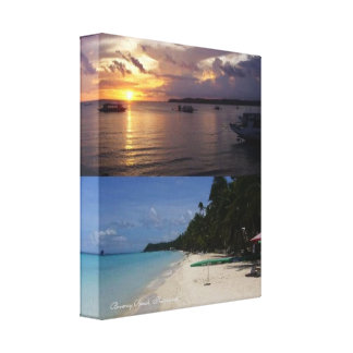 Boracay Beach, Philippines-Wrapped Canvas (Gloss)