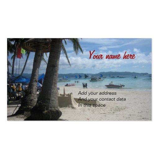 Boracay Business Card