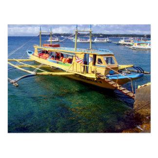 Boracay-Caticlan Ferryboat Postcard