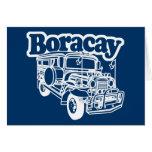 Boracay Jeepney Greeting Card