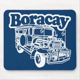 Boracay Jeepney Mouse Pad