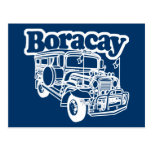 Boracay Jeepney Post Card