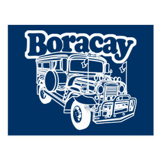Boracay Jeepney Postcard