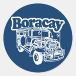 Boracay Jeepney Sticker