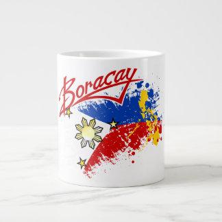 Boracay Philippine Flag and Map Mug / Cup