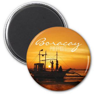 Boracay, Philippines 2 Inch Round Magnet