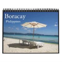 boracay philippines calendar