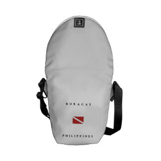 Boracay Philippines Scuba Dive Flag Courier Bag