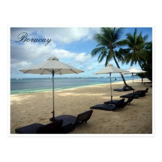 boracay sun lounges postcards