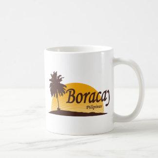 Boracay white classic white coffee mug